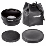 Lente Conversor Gran Angular 0.45x 52mm C/ Macro Nikon Canon