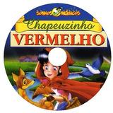 3 Dvds Polegarzinha Patinho Feio Chapeuzinho Vermelho Frete