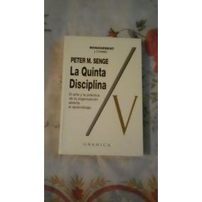 Libro La Quinta Disciplina, Peter M. Senge.