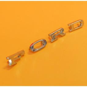 Kit Com 2 Emblemas Ford E 1 Emblema Corcel Modelo Original