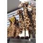 Girafa Articulada De Pelúcia 65cm