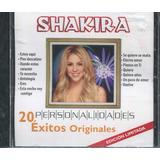 Shakira Disco Cd. Personalidades, 20 Exitos