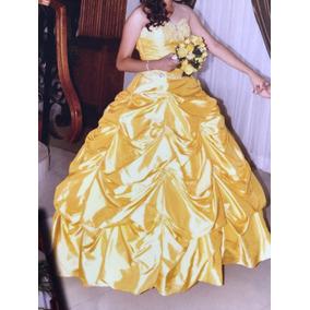 Vestido Xv Años Amarillo