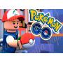 Pokemon Go Lego Papel Arroz A4