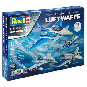 Kit Para Montar Revell Gift Set 60 Anos De Luftwaffe - 05797