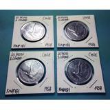 Moneda 10 Pesos / 1 Cóndor Chile - 1958 / Km#181
