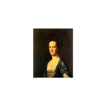Pintura Arte Mrs. Elizabeth Coffin Amory Art, 30 X40