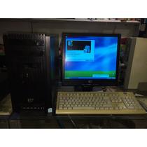 Computadora Hp, Dell, Lenovo Con Monitor De 17 Mouse Teclado