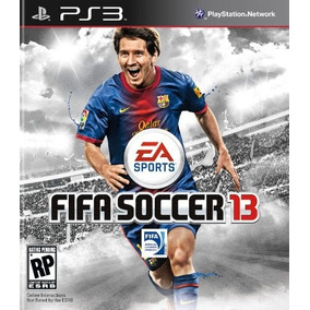 Jogo Fifa 13 Playstation 3 Ps3 Narração Português Futebol