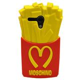 Funda 09 Silicona Moschino Papas Fritas 3d Motorola Moto G