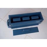 Forma Fazer Blocos 10 (09x19x39cm) Cimento Concreto 3 Furos
