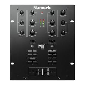 Promoção! Numark M101usbblack Mixer 2 Canais Com Usb P/ Djs