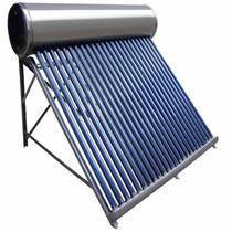 Calentador Solar 250 Lts, Veconomica 7 A 8 Usuarios Dcontado