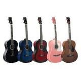 Guitarra Acústica Super Paquete Todo Incluido