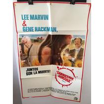 Afiche Original De Cine - Carniceria Humana