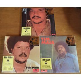 3 Lps Tim Maia - 1970, 1971 E 1973 | Novos - Frete Grátis