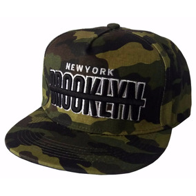 Gorras Visera Plana Cuerina Bordadas California New York