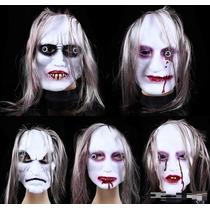 Mascaras Latex Pelo Terror Halloween Fiesta Bromas Chasco
