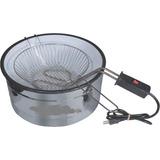 Fritadeira Elétrica 3 Litros Aro Inox Esmaltada 110v