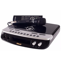 Pop 300 Videoke Raf Eletronics 2 Microfones Musicas Atual