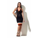 Vestido Justo Tela Morena Rosa Ref:105512