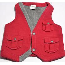 Colete Infantil Tyrol - Vermelho - Tam 3 Anos