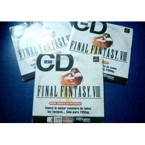 Final Fantasy Viii Demo - Playstation Magazine Cd
