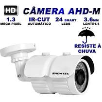 Camera Infravermelho Externa Ahd-m 1.3mp 720p Hd Lente 3.6mm