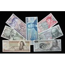 Colección De Siete Billetes Mexicanos, Cuarta Emisión.