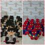 Porta Bombom Kit C/10 Homem Aranha E 10 Batman