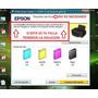 Reset Epson L100-l110-l200-l210-l300 Error Fin Almohadillas