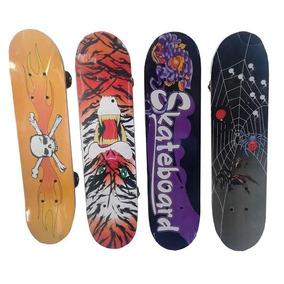 Skate Patineta Madera Infantil Chicos 43x12,5 Cm Microcentro