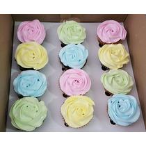 Cupcakes Precio Por Docena Rellenos De Dulce De Leche