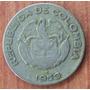 Moneda Colombia 10 Centavos Calarca 1953 B