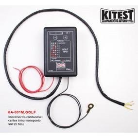 Conversor Bi-combustivel Mono Golf - 1 Bico Gasolina/alcool