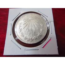 Monedas Plata 1 Un Peso Resplandor 1945 Ley.720