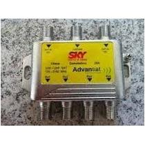 Kit 100 Chave Comutadora Sky 3x4 Podendo Substituir Diseqc