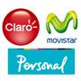 $50 Recarga Virtual Claro - Personal - Movistar - Nextel