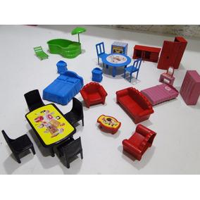 Moveis Para Casa Boneca Polly Peppa Playmobil Lego Chaves