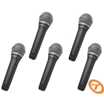 Kit 5 Microfones Samson Vocal Q7 Original Q 7