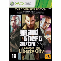 Gta 4 Liberty City Midia Fisica Original Novo Lacrad Xbox360