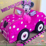 Piñata Carro Mickey,minnie,fiestas Infantiles,cars