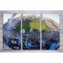 Cuadro Triptico Mural Cancha De Futbol Boca Junior Bombonera
