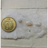 Opalos Arlequinados Australianos Cabuchones Iridiscentes
