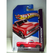 Hot Wheels Camioneta 67 Chevy C10 Rojo 170/250 2013