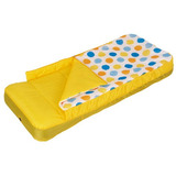 Colchon Inflable 1 Plaza Con Inflador Camping Pesca