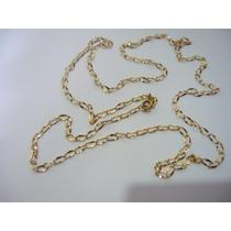 Correntinha De Ouro 60cm3gr2x4