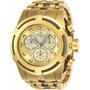 Relógio Invicta Bolt Zeus Plaque Ouro Ref 23913