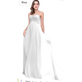 Vestido Blanco Nuevo. Novia O 15. Con Etiqueta