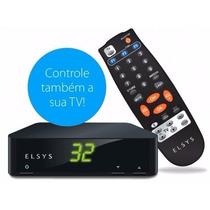 Novo Receptor Tv Analógico Elsys Petit Etrs39 P/ Parabólica